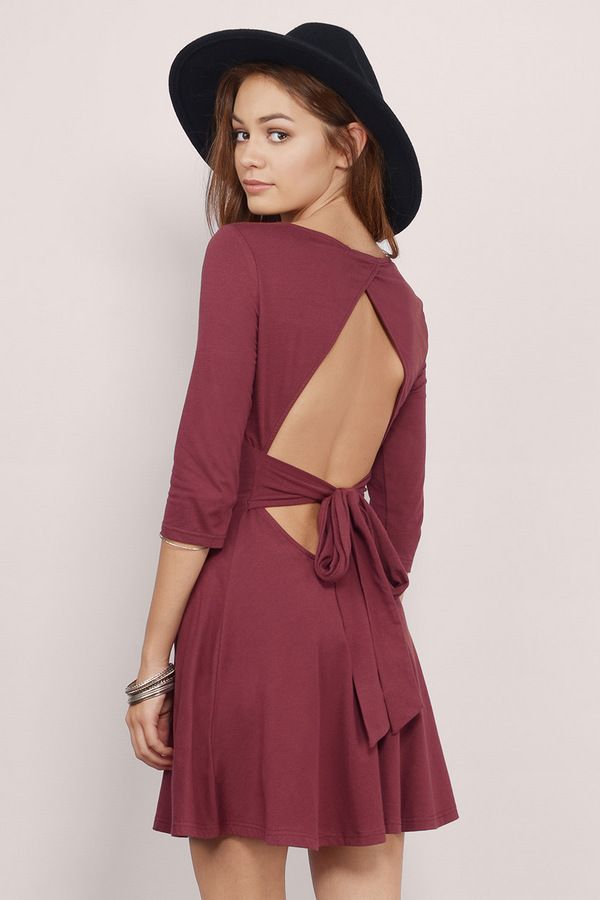 Natasha Skater Dress at Tobi.com #shoptobi | Find more Valentines Day Dresses at www.tobi.com | #SHOPTobi | #VDay