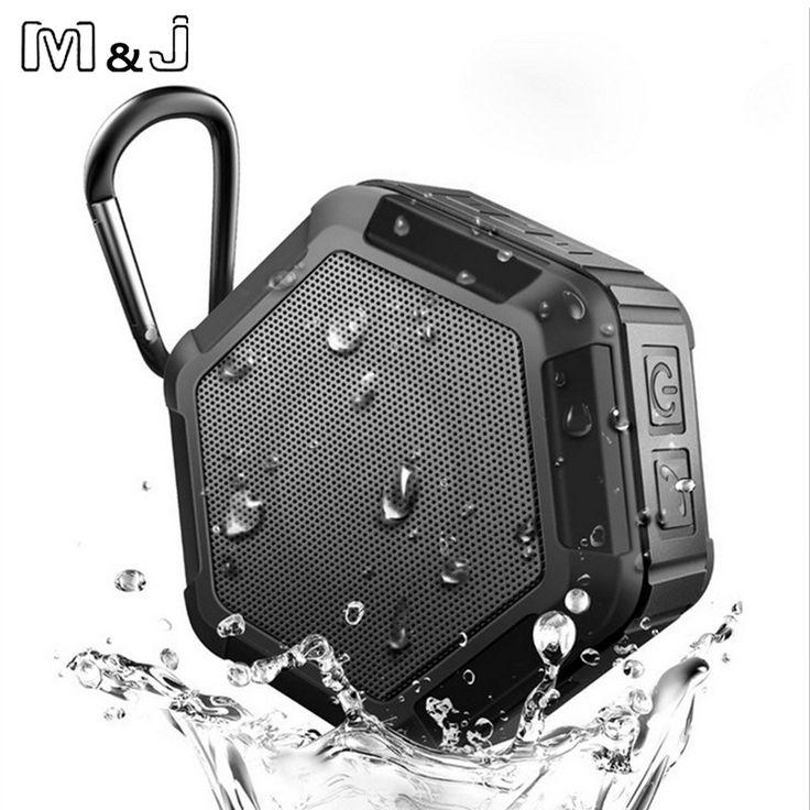 Mu0026J M5 Bluetooth Speaker Subwoofer Powerful IP65 Waterproof Mini Portable  Wireless Speaker For Outdoor Phone Work