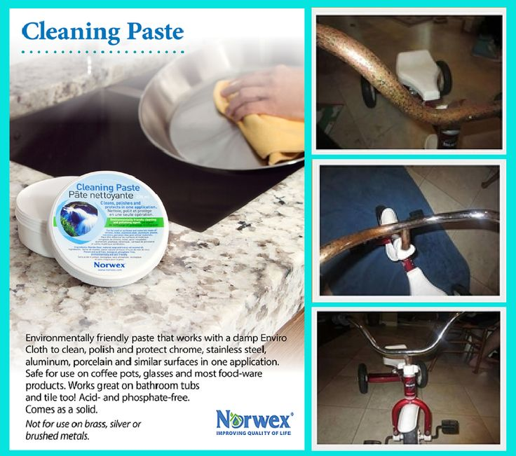how to clean headlight with norwex paste