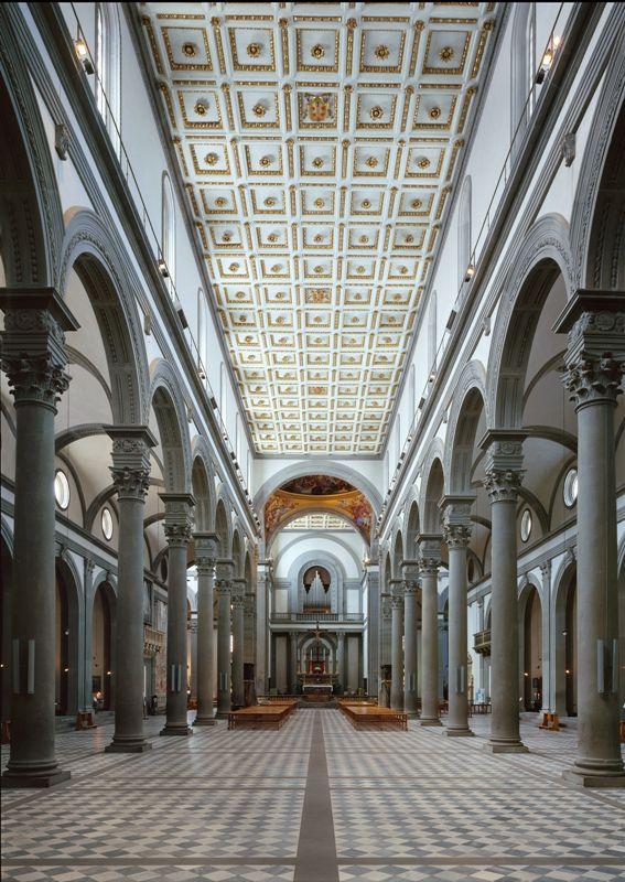 BRUNELLESCHI, Chiesa di San Lorenzo, Firenze