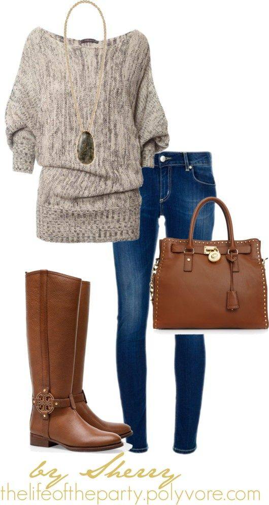 Casual comfy, loving the sweater!