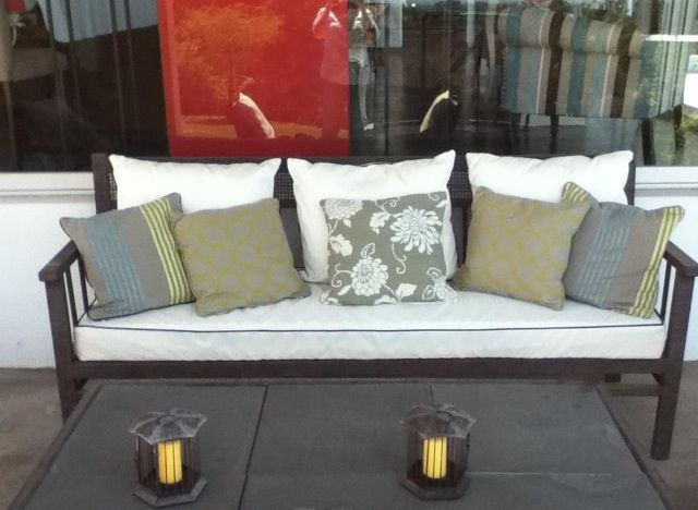 Muebles de terraza de fierro terrazas pinterest for Sillones de terraza