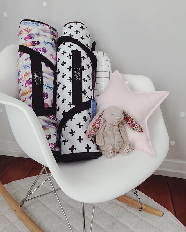 The Boho & Monochrome both ready for the daycare run! #stylishkidsjuly 📷 @luxebabylove