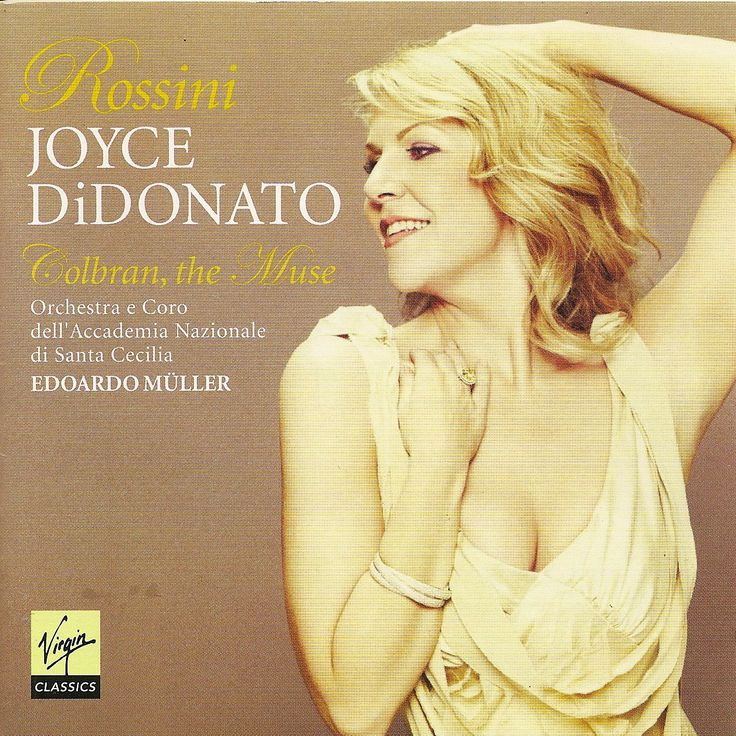 The brilliant mezzo soprano Joyce DiDonato. Starring in La Donna del Lago in Santa Fe this season. Her costar there, Lawrence Brownlee, also sings on this disc.  So excited to get there!!!