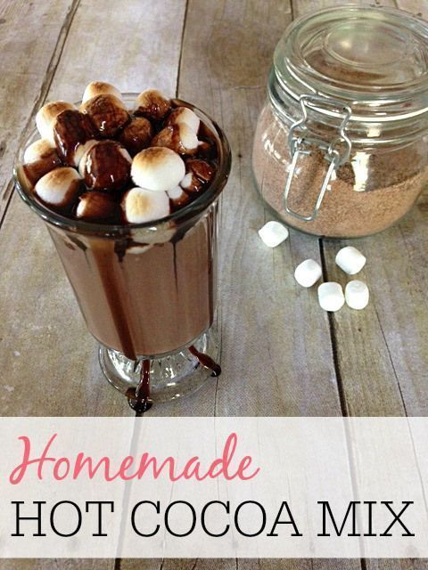 Skip the swiss miss and try this frugal homemade hot cocoa mix. It tastes great and is so easy to make. It's the perfect hot chocolate drink to keep the kids warm on those cold winter days.