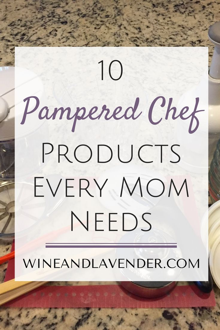 Here are some great and easy cooking tools to make Mom life easier. Check out: 10 Pampered Chef Products Every Mom Needs http://www.wineandlavender.com/mom-stuff/10-pampered-chef-products-every-mom-needs/
