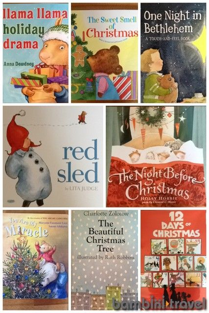 25 Books: CHRISTMAS (toddler edition) | Bambini Travel