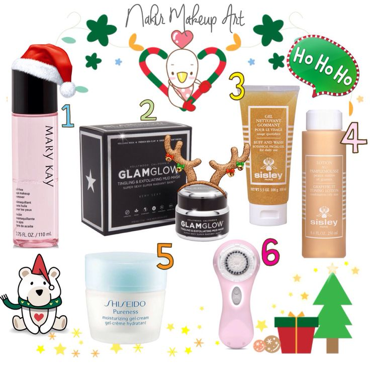 Mi rutina de higiene e hidratacion facial durante estas Navidades.  1. Locion Desmaquillante de ojos bifasico de Mary Kay.   2. Glam Glow Youth Mud.  3. Gel limpiador exfoliante buff and wash de Sisley.  4. Lotion au Panplemousse de Sisley.   5. Pureness de Sisheido.  6. Clarisonic Mia 2.