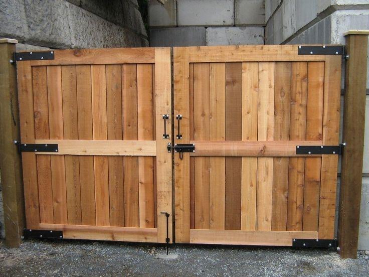 Fence Gates Designs