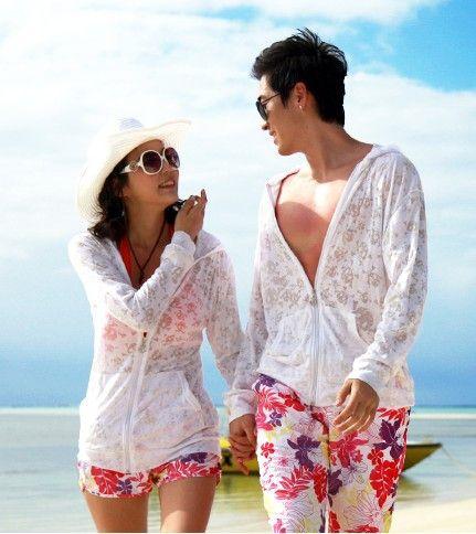 Защита от солнца рубашка защиты от солнца одеждой с длинными рукавами прозрачный плюс размер любители пляжная одежда защиты от солнца одеждой