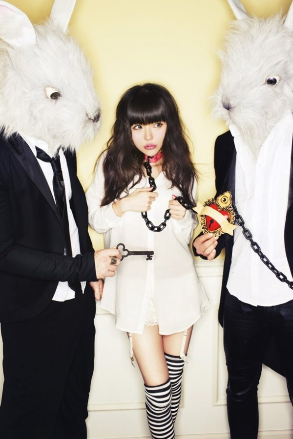 """Artist: Milky Bunny // Album: """"Milky Bunny"""" due 3/21/12 // Source: tokyohive.com // It's poppy fluff, but I'm interested to hear it; """"BunnyDays,"""" from the first single, was surprisingly good. Why can't we get Chaku-Uta in America? I want to hear the digital release of """"Milk Shake SOS!"""""""