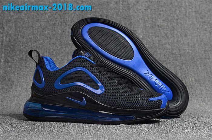 Fashion Mens Nike Air Max 720 KPU For Sale Black Navy Blue