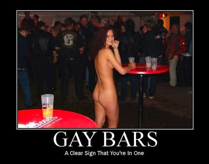 Funny gay bars