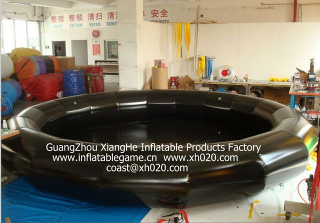 Source Huge Sale Commercial Grade Pvc Tarpauline Ip019 Inflatable Black Pool In Stock On M Alibaba Com Inflatable Water Slide Kids Playground Inflatable