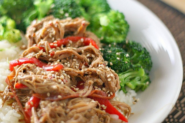 ... sprinkled over the top) - SUPER good. Thai Pork 4 by Savour Fare