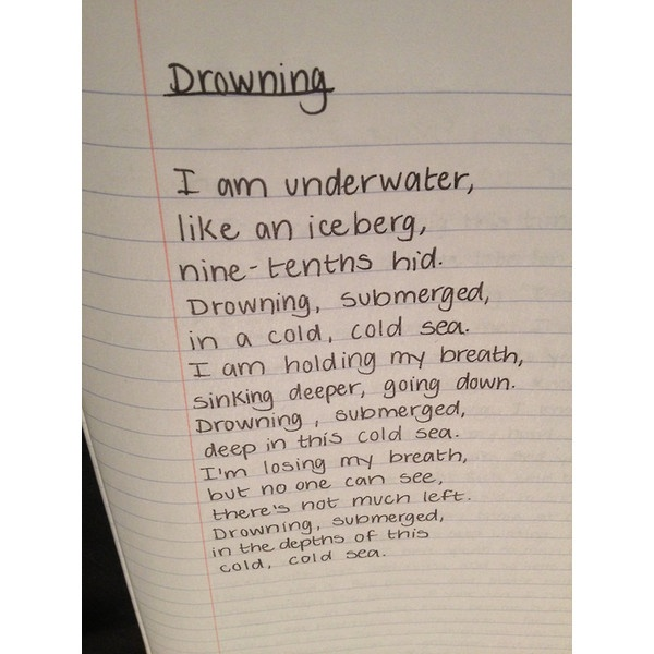 Suicide Poems And Quotes: Tumblr Via Polyvore