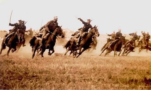Polish cavalry -