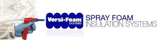 RHH Foam Systems, Inc. manufactures low-pressure polyurethane spray foam insulation systems that are portable and disposable - Versi-Foam® two-component polyurethane spray foam insulation kits, and Versi-Tite® Window & Door single component polyurethane foam sealants.