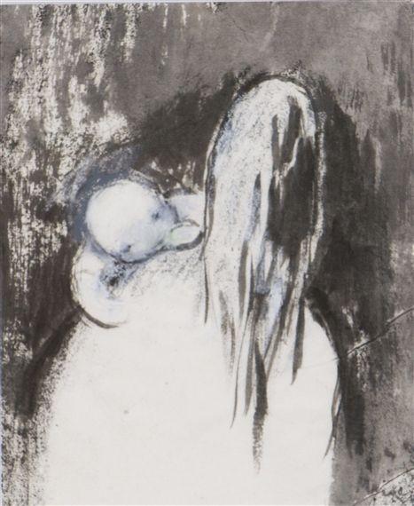 Mother and child - Elvi Maarni