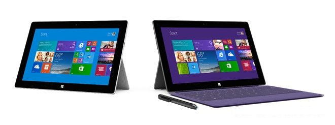 Microsoft announced Surface 2 and Surface 2 Pro Tablets