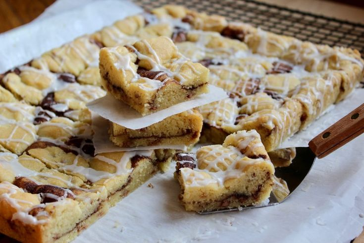 Zimt Chip Snickerdoodle Cookie Bars