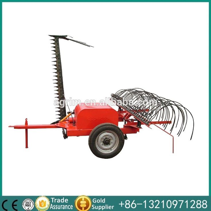 hydraulic Multi function grass mower and rake flail mower for sale