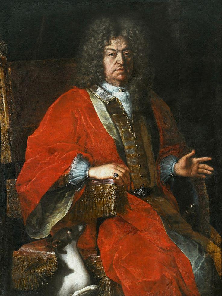 Portrait of Jan Dobrogost Krasiński by Michelangelo Palloni, ca. 1700 (PD-art/old), Muzeum Pałacu Króla Jana III w Wilanowie
