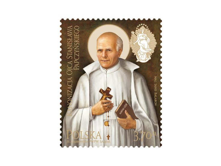 COLLECTORZPEDIA Canonization of Father Stanisław Papczyński