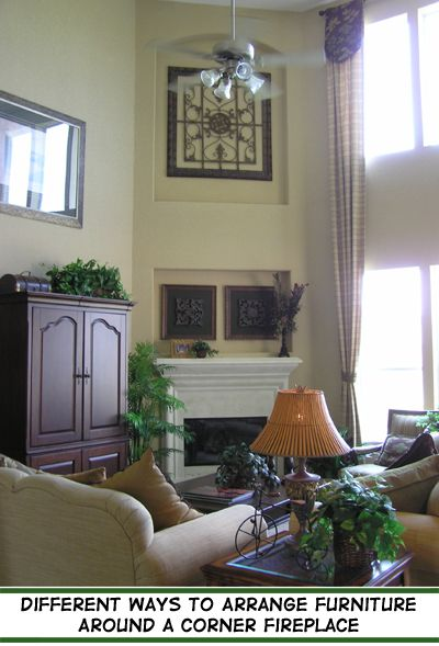 114 best great room images on pinterest mantles for Arranging furniture with fireplace and tv