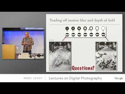 Marc Levoy - Lectures on Digital Photography - Lecture 1 (21mar16).mp4 - YouTube
