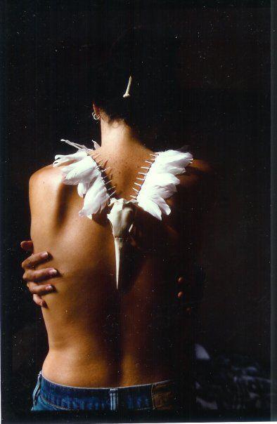 Gannet neckpiece by native sista