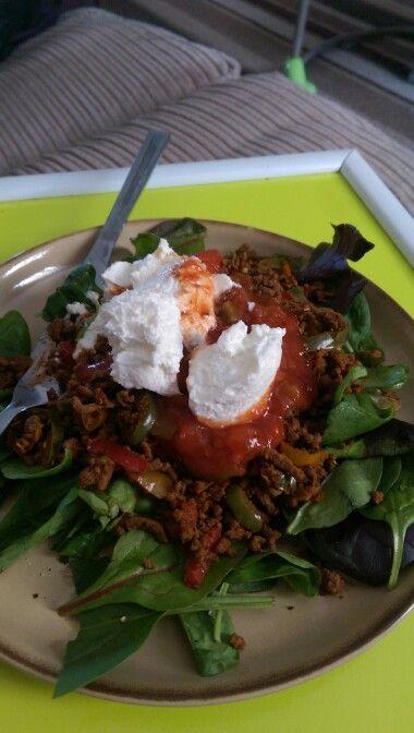 Slimming world mince fajita salad | slimming world food ...