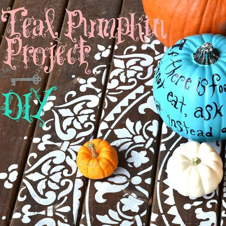 The greatest day of the year is less than a week away...that's right this is not a drill! Halloween is coming! Help to make the most hauntingly special night of the year food-safe for every kid by participating in the Teal Pumpkin Project. Find out here about what the project is aiming to accomplish and how you can make your own teal pumpkin! ...... blog.rrarestorations.com #TealPumpkinProject #Halloween #safetyfirst #funforall #trickortreat #pumpkins #mandala #Autumn #blue #teal #DIY…