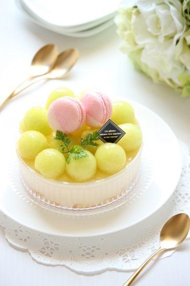 「【ひんやり2017】メロンと楽しむ☆バニラのババロア」Minami | お菓子・パンのレシピや作り方【cotta*コッタ】