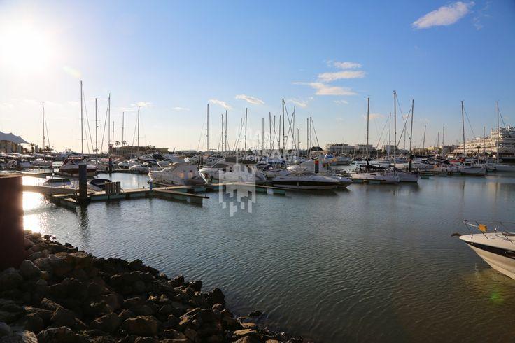 A maior marina de Portugal localiza-se no Algarve / The biggest marina of Portugal is located in Algarve.