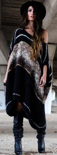 Wool Dress