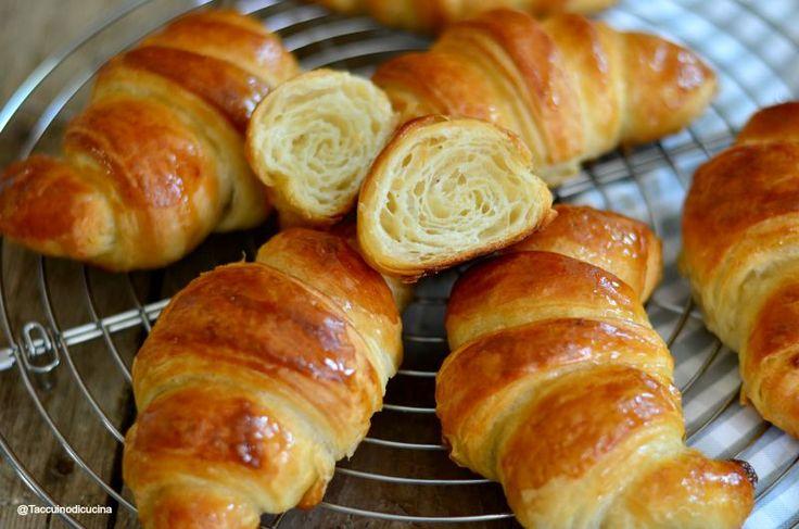 I croissant sfogliati di Sandra