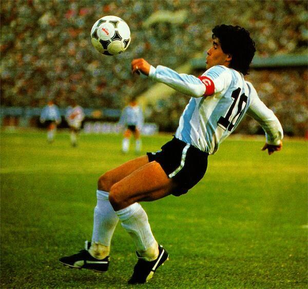 Diego Maradona,Eliminatorias Mundial México 1986 (Perú 1 Argentina 0,Estadio Nacional de Lima)