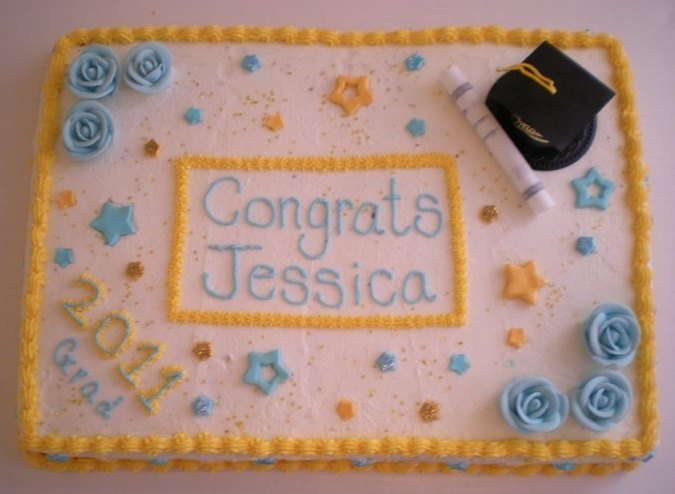 Sheet Cakes For Graduation