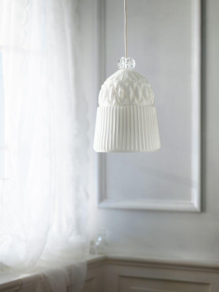 Iedere VANADIN hanglamp is uniek omdat het glas mondgeblazen is. #IKEA