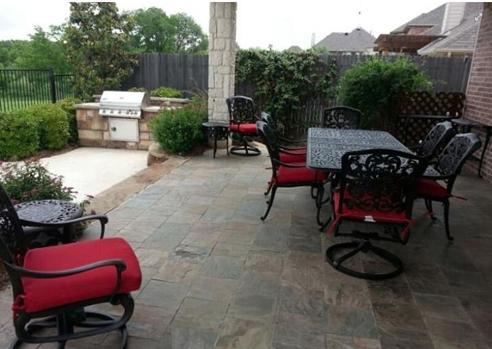Hanamint Grandview dining set outdoor dining patio
