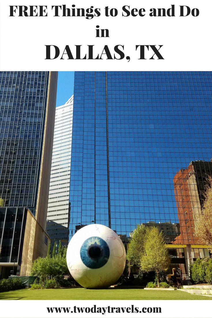 Free activities in Dallas, TX for your next budget vacation! Ideas for a fun and frugal trip.