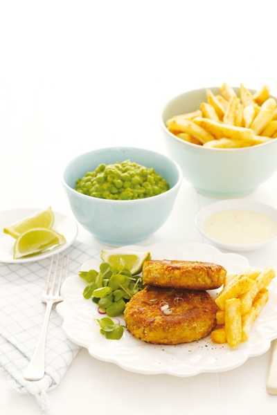 Family food: Curried fishcakes