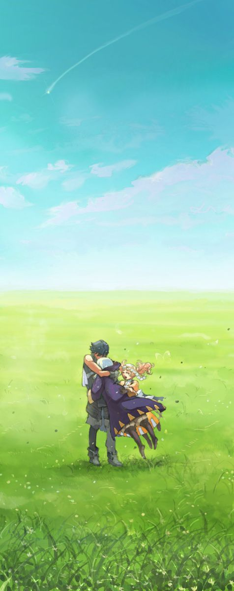 Fire Emblem: Awakening; In the field #Chrom #Liz #My Unit