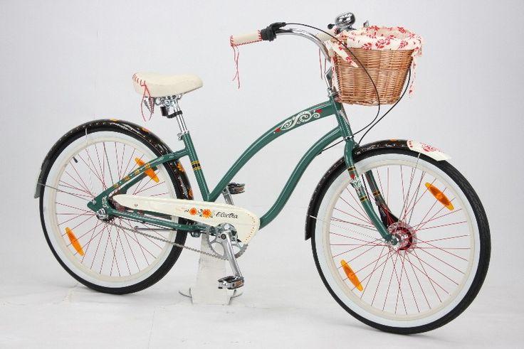 """Electra Gypsy.3i Da.26"""" Cruiser 3N grü   Cruiser   fahrräder   Cruiser   26 Zoll   forest green   www.fahrradgigant.de - günstig online kaufen"""