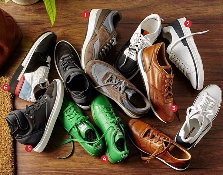 There's no such thing as many sneakers. Which pair would you rock today? Go