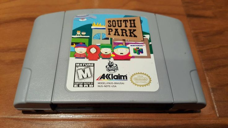 South Park Nintendo 64 n64 console system video game, South Park n64, South park - pinned by pin4etsy.com