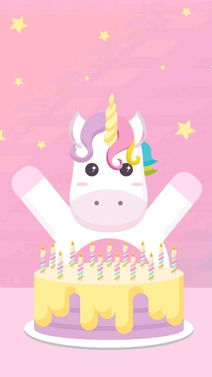 Cool Backgrounds In 2021 Iphone Wallpaper Vintage Happy Birthday Wallpaper Unicorn Painting Happy birthday unicorn wallpaper
