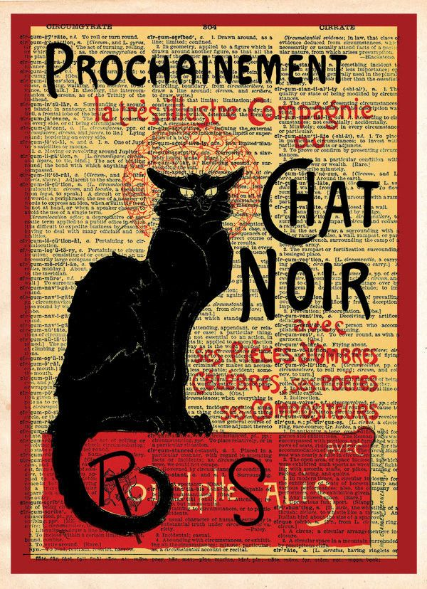 Best 25+ Le chat noir ideas on Pinterest | French posters ...