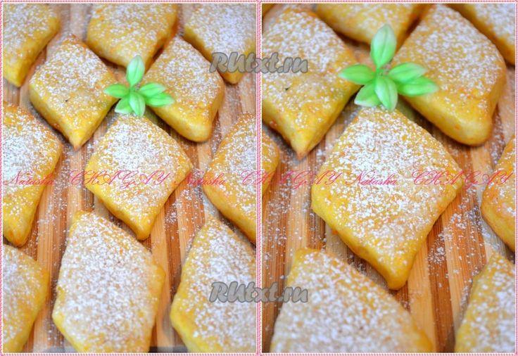 Печенье из тыквы и творога